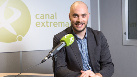 Fernando Nieto, voz corporativa en Canal Extremadura